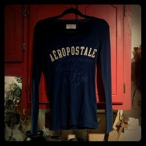 Aeropostale Long Sleeve Thermal Shirt